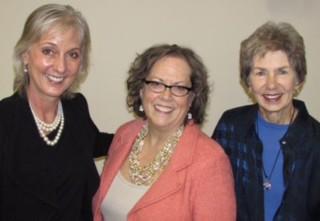 Teri Pipe, Diana Mason and Mary Killeen